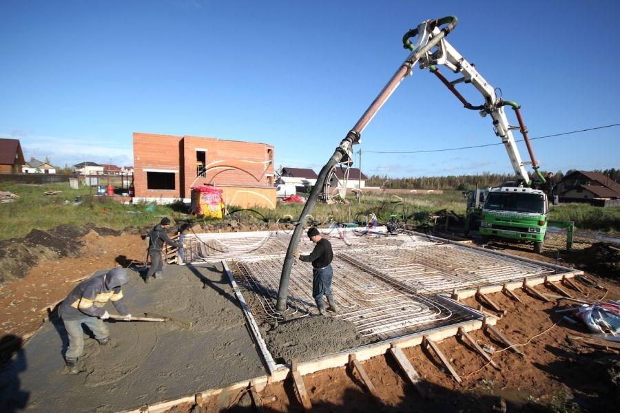 завод по производству бетона строительство