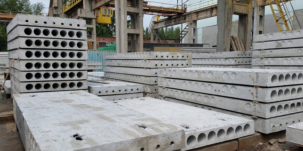 бетонные плиты для перекрытий размеры и цены